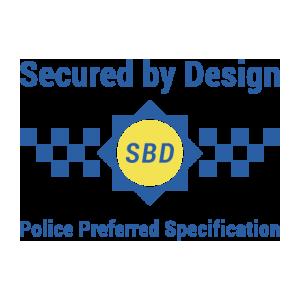 Secured By Design Logo - Steel Doors Birmingham